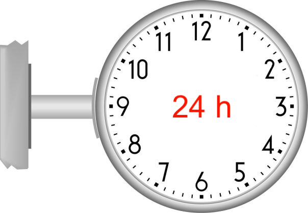 24 Stunden