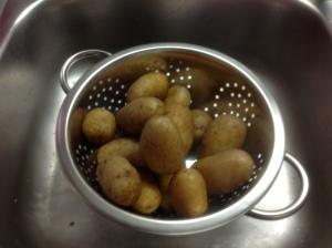 Kartoffel ausdampfen