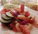 Melonen_Krevetten_Salat